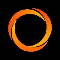 Polyester band 35 mm - 100 m op rol - 3 strepen-Groen