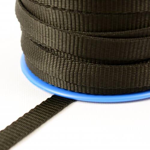 Polypropyleen band 15 mm - 300 kg - op trommel - zwart MB