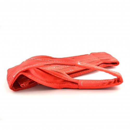 Sangles de levage 5 tonnes, rouges (1,5 à 12 mètres)