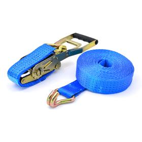 sangle d'arrimage 5 tonnes avec tendeur à cliquet Ergo + crochets à griffes 9 mètres>