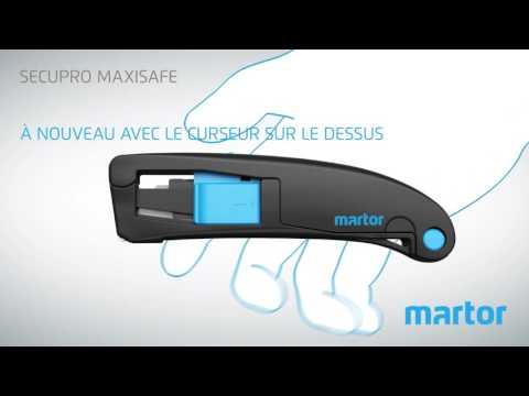 Comment utiliser le Secupro Maxisafe?