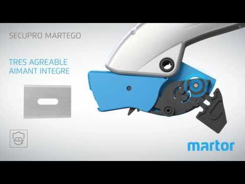 Comment utiliser le Secupro Martego?